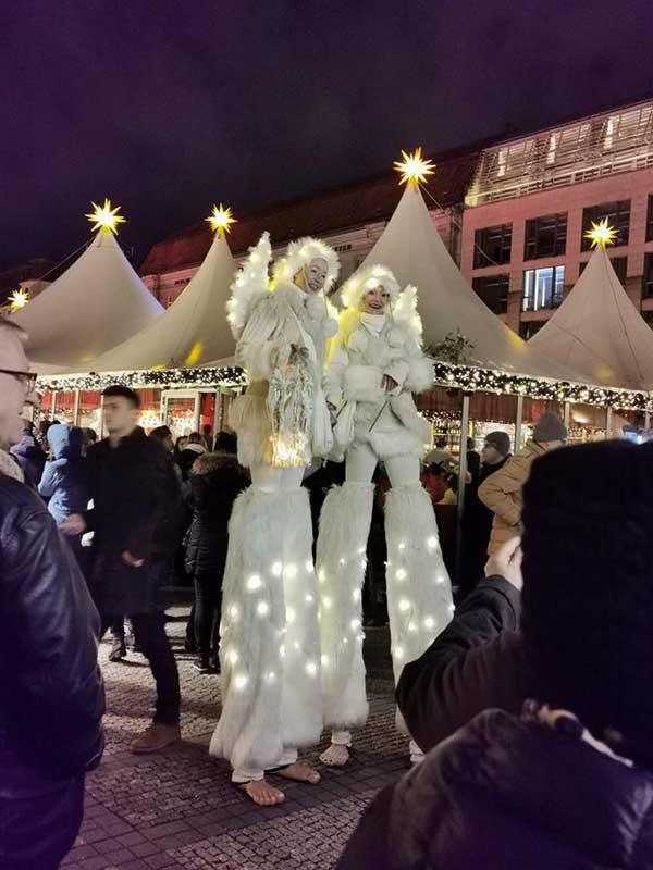 trampolieri di Natale