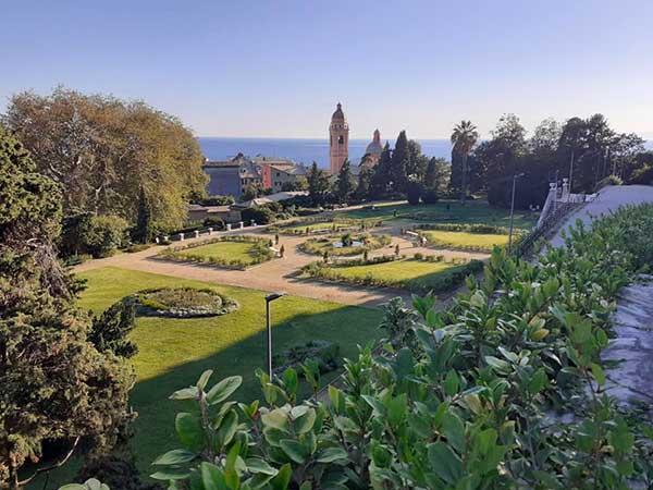 Giardini vills Duchessa genova