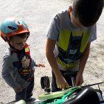 bambini bicicletta