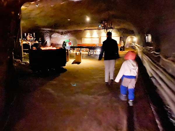 guida miniere di sale nei tunnel