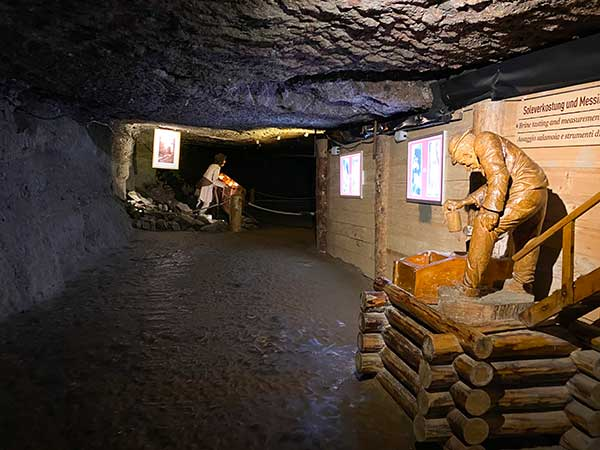 miniere di Sale di Hallein sale