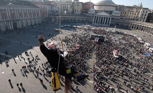 befana piazza plebiscito Napoli