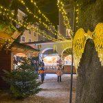 salisburgo ali d'angelo addobbano mercatino di Natale