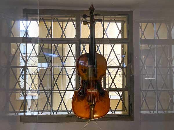 primo violino di mozart