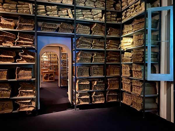 archivio storico Banco di Napoli documenti multimediali