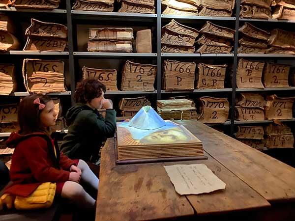 archivio storico Banco di Napoli documenti multimediali bambini