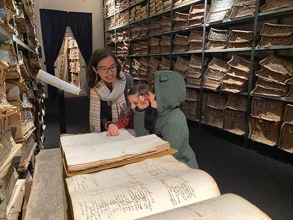 visita guidata museo archivio storico banco di napoli