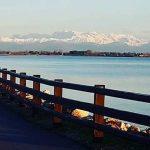 Ciclabile lungo lago