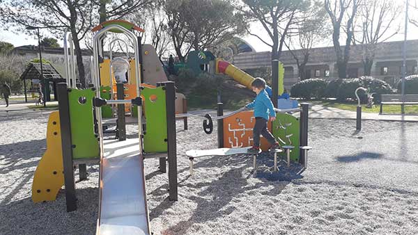parco giochi a Grado