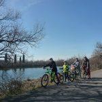 grado Friuli venezia Giulia famiglia in bici