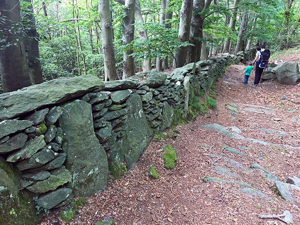 strada megalitica
