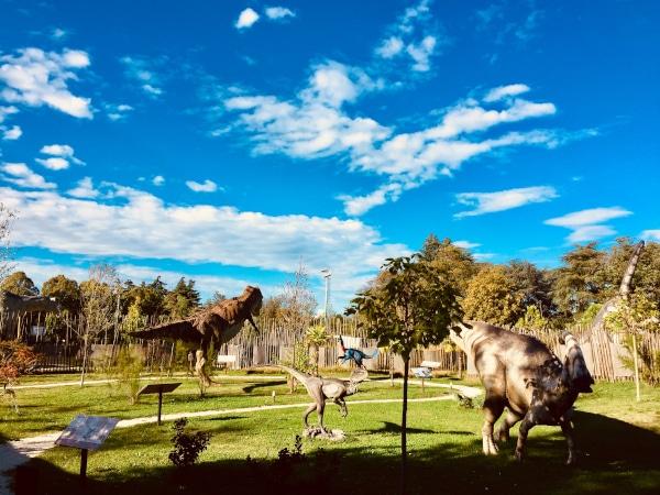 parco dinosauri bologna