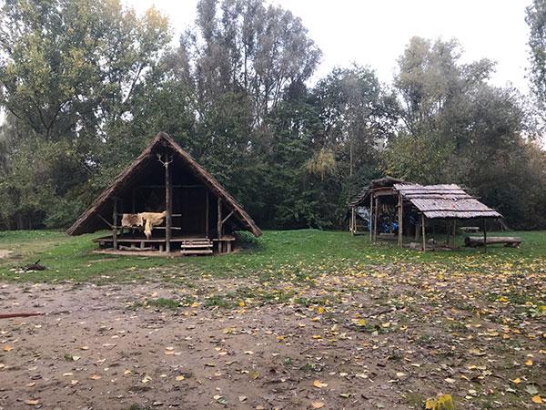 Parco valle del Menago Palafitte