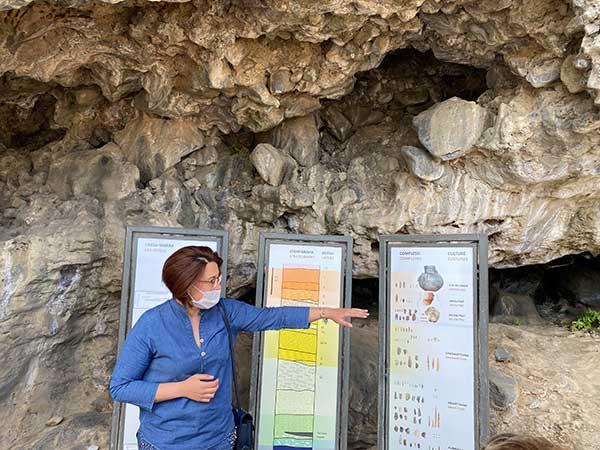 guida grotta della cala
