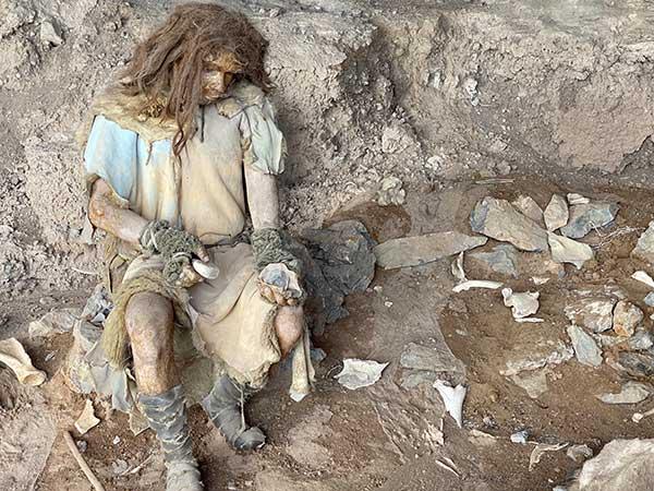 ricostruzione uomo preistorico