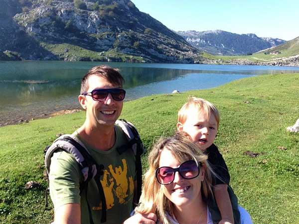 famiglia montagna