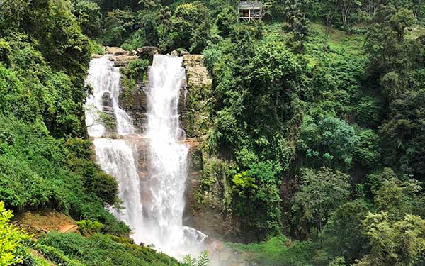 Sri Lanka con i bambini Ramboda Falls,