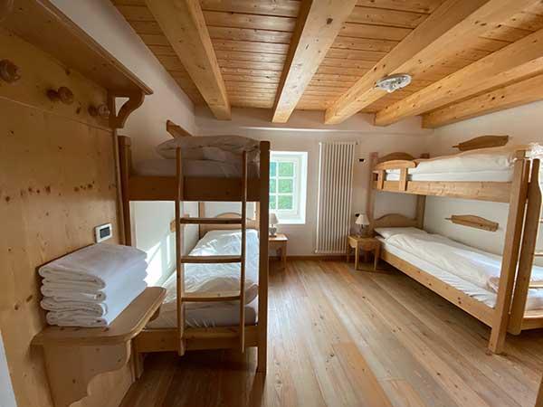 camera rifugio i nelgno