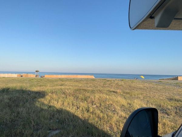 vista mare dal camper