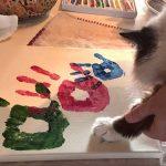 gattp lascia imponte di pittura
