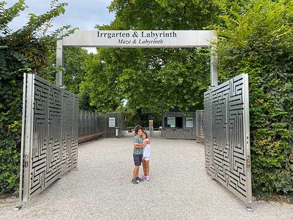 ingresso labirinto di schonbrunn