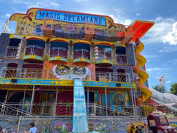 Magic dreamland al prater di Vienna
