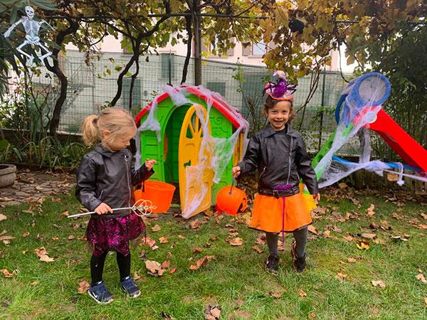 bimbe vestite da Halloween