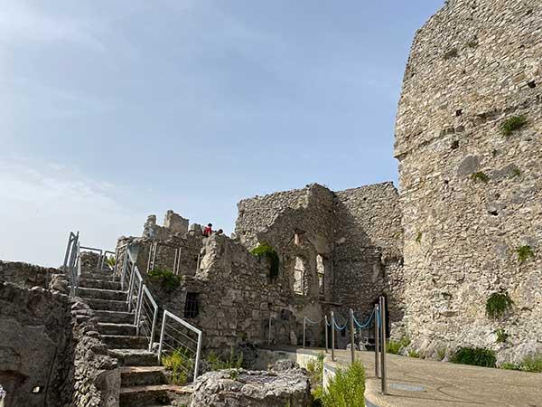Salerno castello Arechi