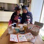 bambini cucinano ricetta di Halloween