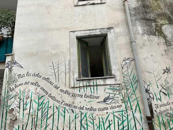 muri d'autore salerno