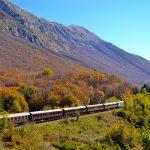 treno transiberiana d'Italia autunno