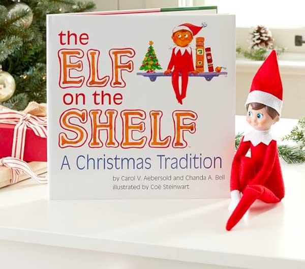 elf on the shelf libro