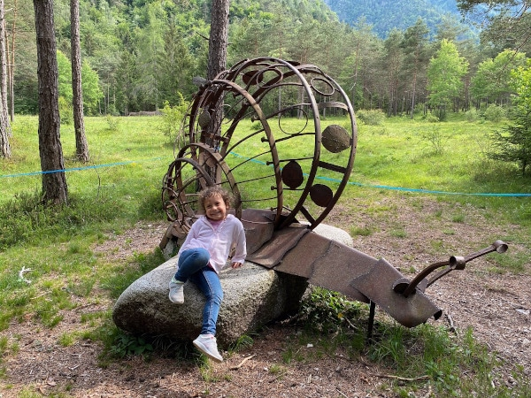 bambina a ledro land