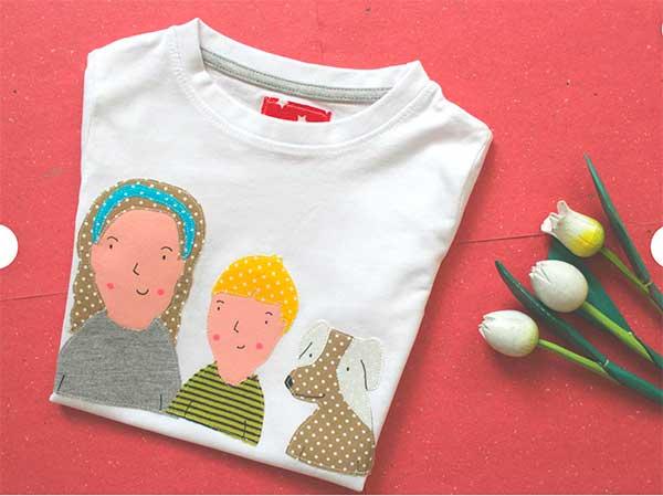 maglia con ritratti