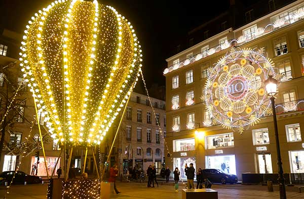 luci Natale parigi