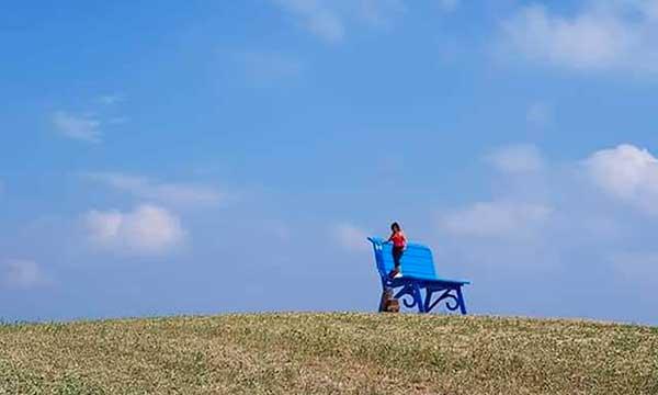 Panchine giganti big bench Prignano sulla Secchia in Emilia