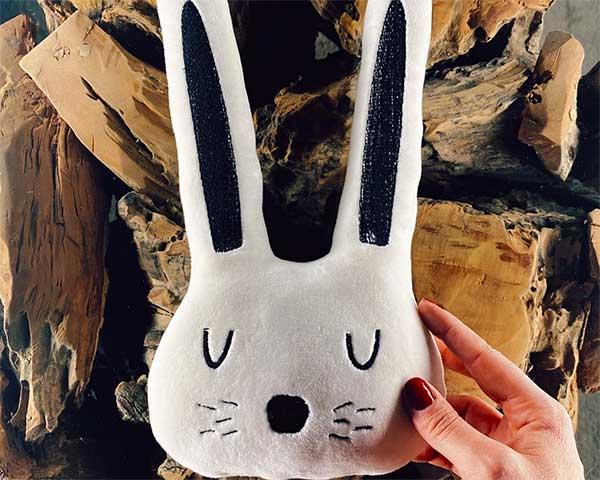 cuscino a coniglietto