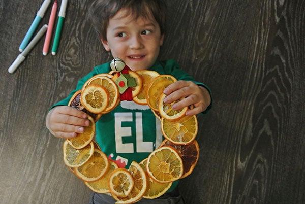 decorazioni natale con i bambini