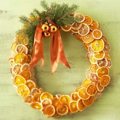 ghirlanda arance decorazione Natale