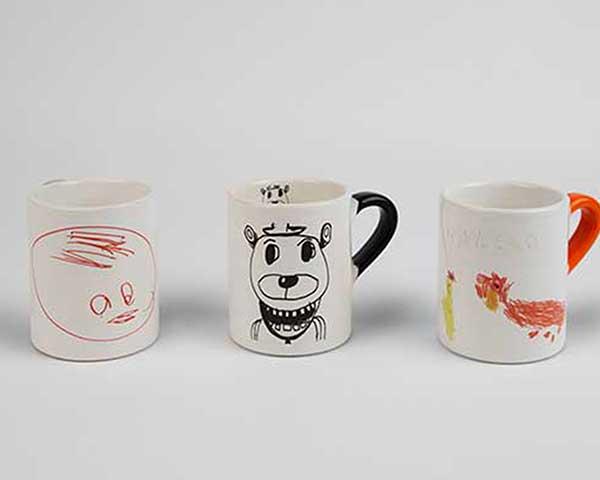 bicchieri disegni bambini