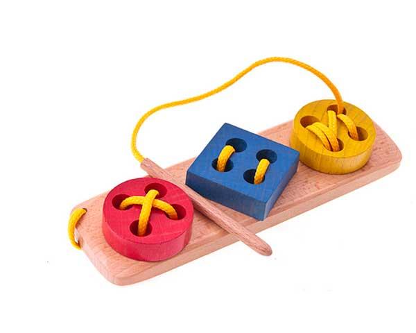bottoni legno gioco