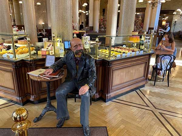 ingresso caffè central Vienna