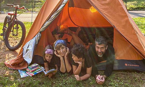 5 motivi per cui andare in campeggio con i bambini