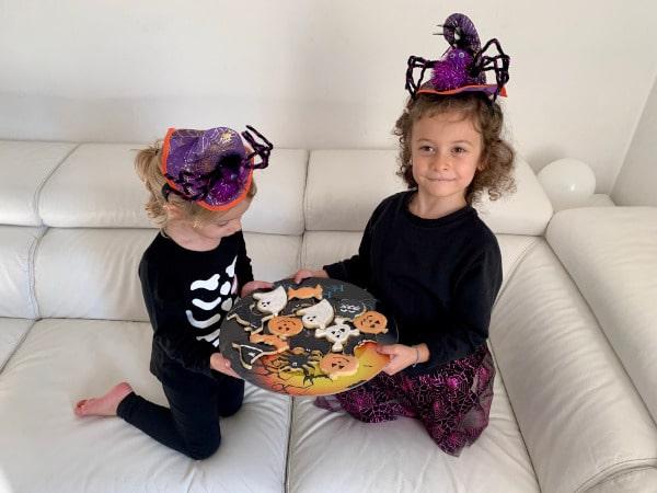 bambine biscotti halloween