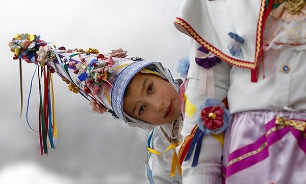 carnevale in Italia bambino mascherato